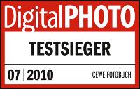 digital photo testsieger cewe fotobuch