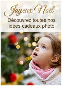 Découvrez toutes nos idées cadeaux photo pour Noël