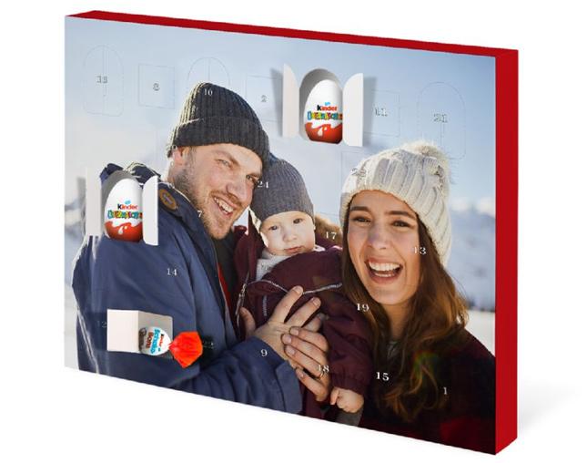 Adventski kalendar - iznenađenje s kinder® jajima