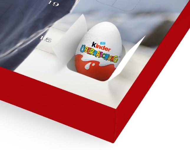 Adventi naptár Meglepetés kinder® tojással
