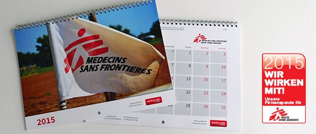 Kalender für Ärzte ohne Grenzen