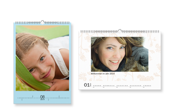 Calendario de pared A3 mate