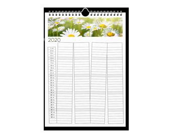 Calendar de familie A3 tip agendă