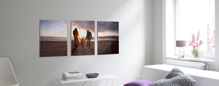 Többrészes galéria fotó (direkt nyomtatás)