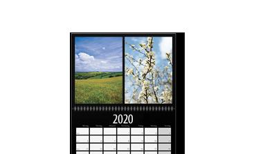 Agendă calendaristică de perete A2