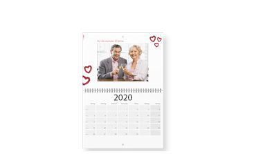 Agendă calendaristică de perete A3