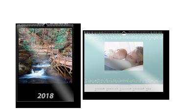 Calendar de perete A3 pa hârtie foto