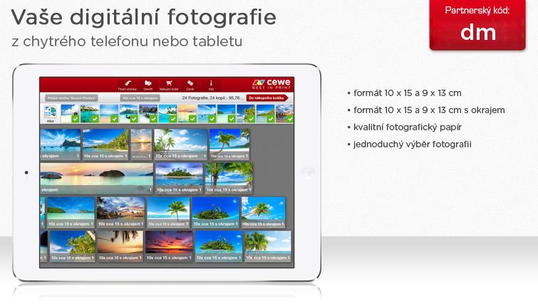 Digitální fotografie z chytrého telefonu nebo tabletu