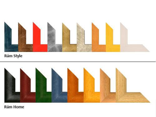 Typy rámů