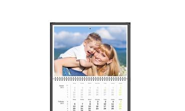 Kalendář A2 tříměsíční