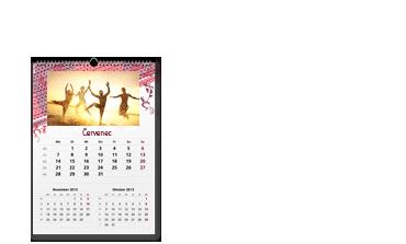 Kalendář A3 tříměsíční