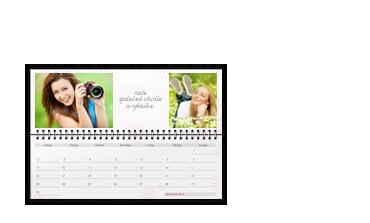 Kalendář stolní ležící