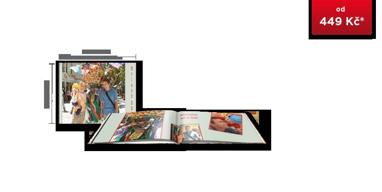 CEWE FOTOKNIHA kompakt panorama - digitální tisk ve vysokém lesku