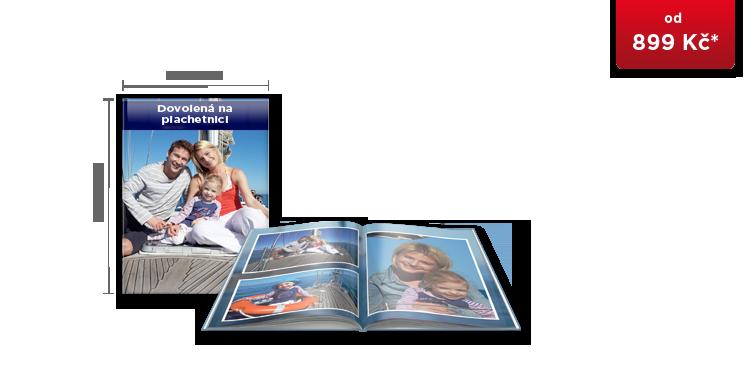 CEWE FOTOKNIHA Velká A4 - digitální tisk ve vysokém lesku