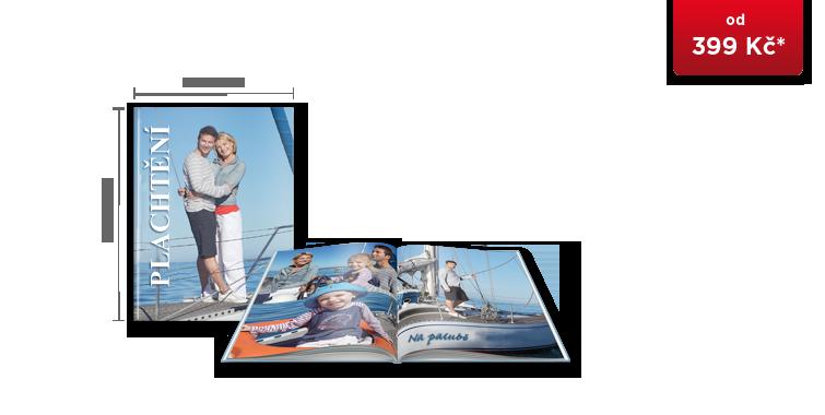 CEWE FOTOKNIHA Velká A4 - digitální tisk