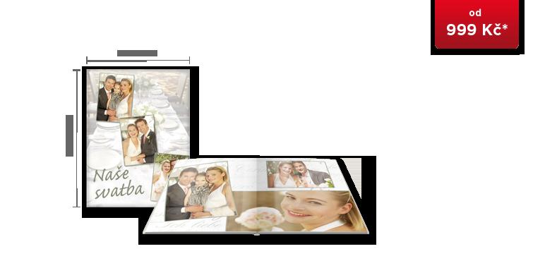 CEWE FOTOKNIHA Velká A4 - fotopapír LESK