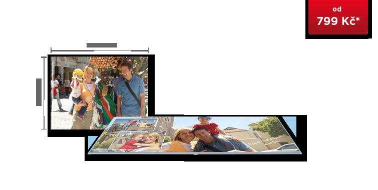 CEWE FOTOKNIHA Velká A4 panorama - fotopapír MAT