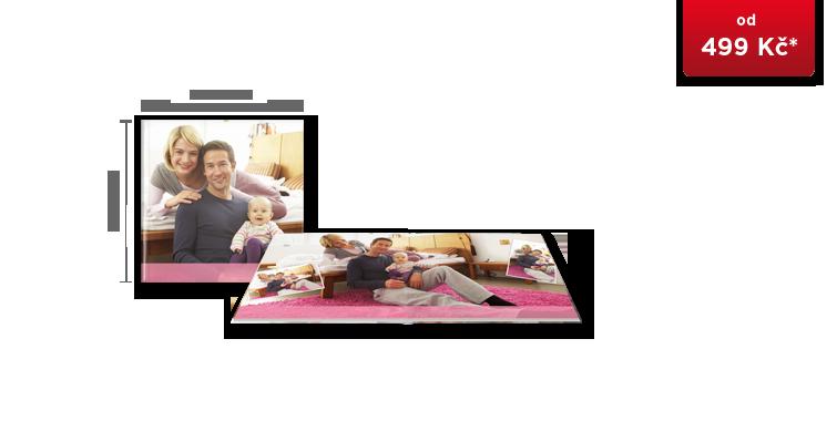 CEWE FOTOKNIHA čtvercová - fotopapír MAT