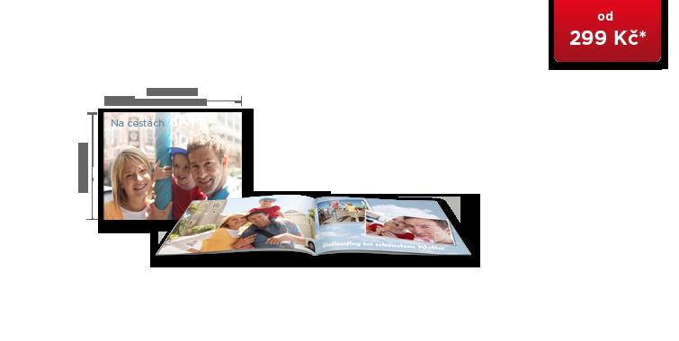 CEWE FOTOKNIHA kompakt panorama - měkká vazba