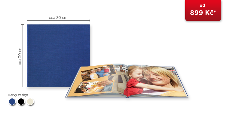 CEWE FOTOKNIHA XL - plátno prémium
