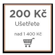 200 Kč výhoda