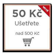 50 Kč výhoda