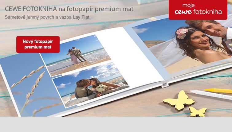 CEWE FOTOKNIHA - fotopapír premium mat
