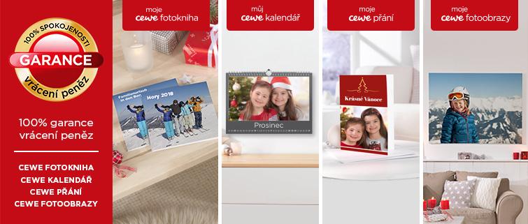 CEWE FOTOKNIHA - 100% garance vrácení peněz