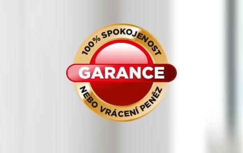 100% GARANCE spokojenosti