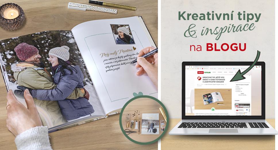 Kreativní tipy & inspirace na blogu