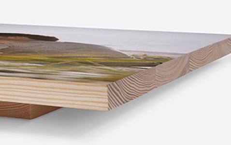Foto na dřevě