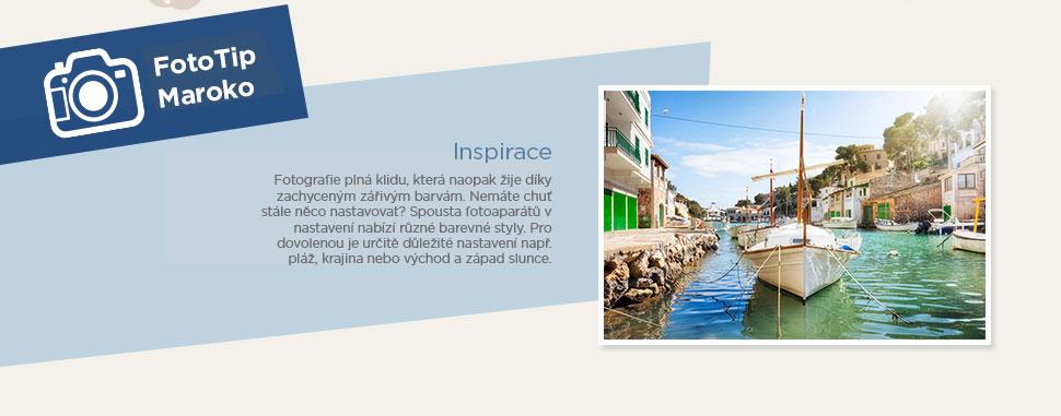 Inspirace Maroko