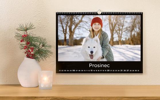 Fotokalendář - kreativní dárek na celý rok