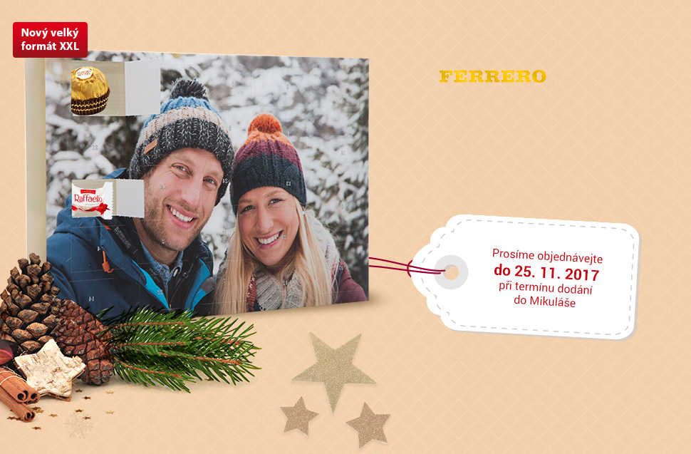 Prémiový adventní kalendář FERRERO