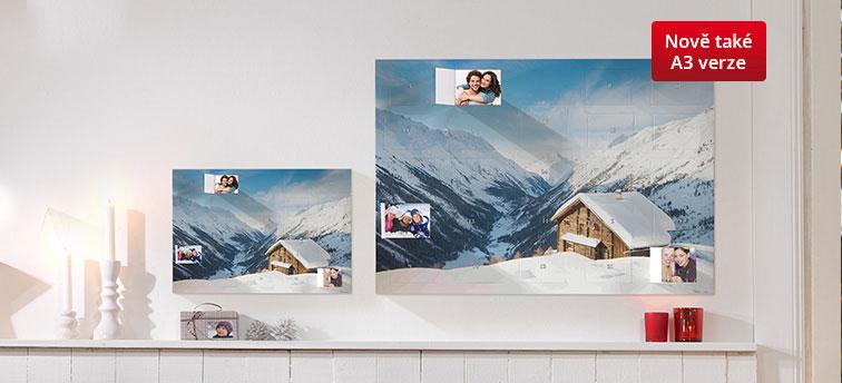 Adventní kalendář s fotografiemi