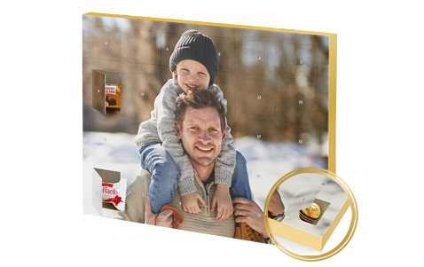 Prémiový adventní kalendář s pralinkami Ferrero XXL