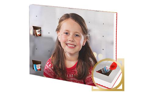 Čokoládový adventní kalendář s produkty kinder® XXL
