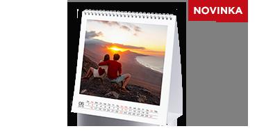 Stolní kalendář čtvercový velký