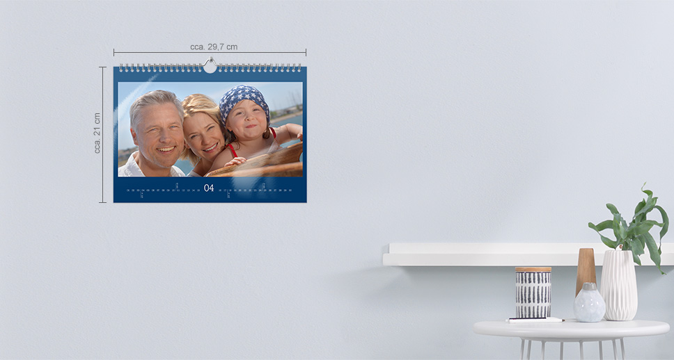 Kalendář A4 panorama