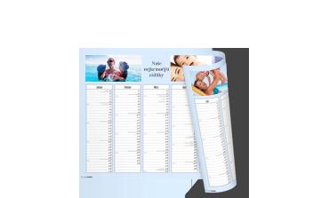Roční kalendář A4