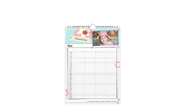 Rodinný kalendář A4