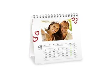 Stolní kalendář čtvercový