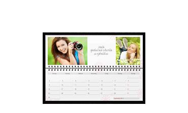 Stolní kalendář (ležící)