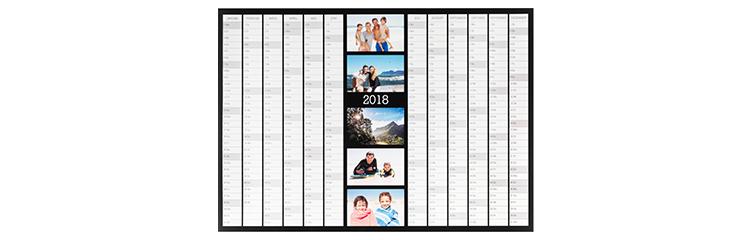 Roční kalendář A2