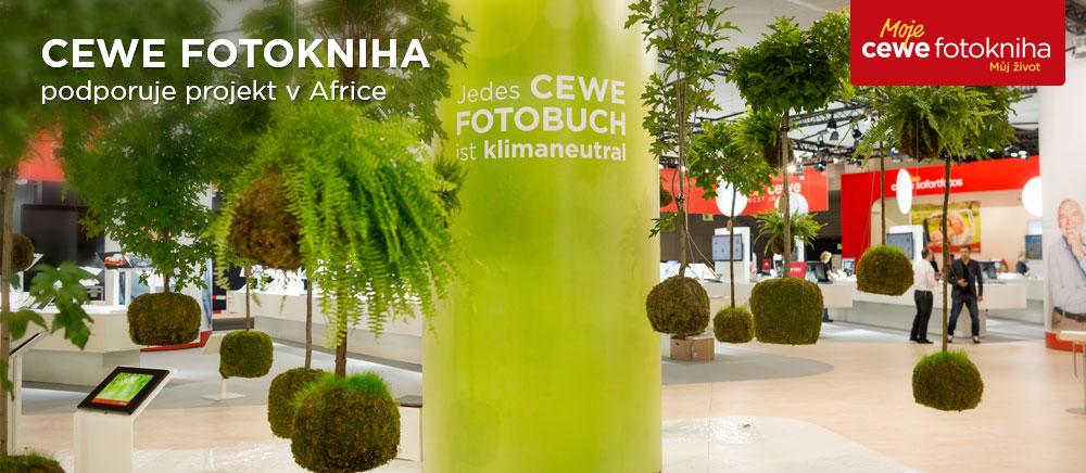 CEWE FOTOKNIHA podporuje projekt v Africe
