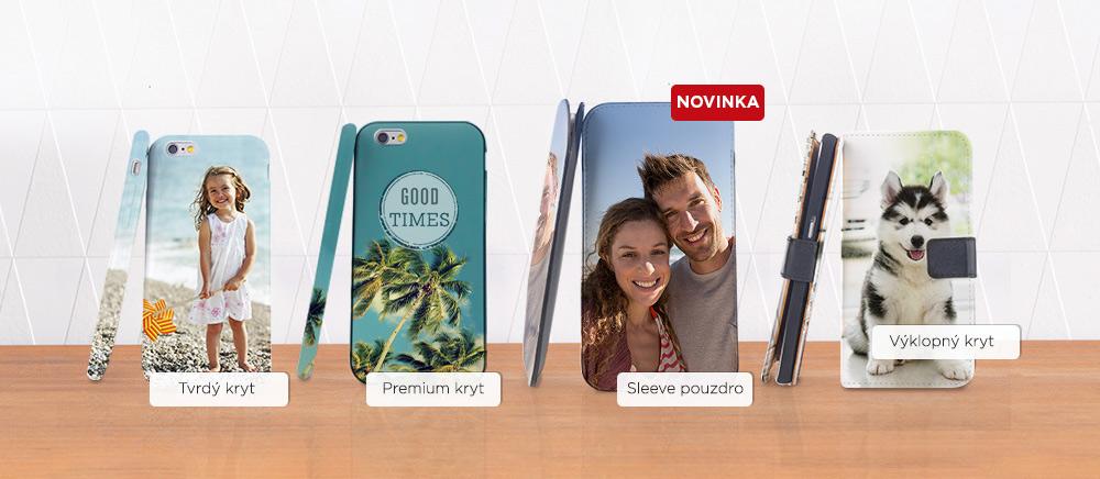 Nové kryty na mobil
