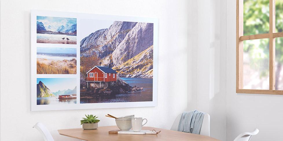 Foto na plátno, Foto na hliníkové desce, Foto za akrylovým sklem a další