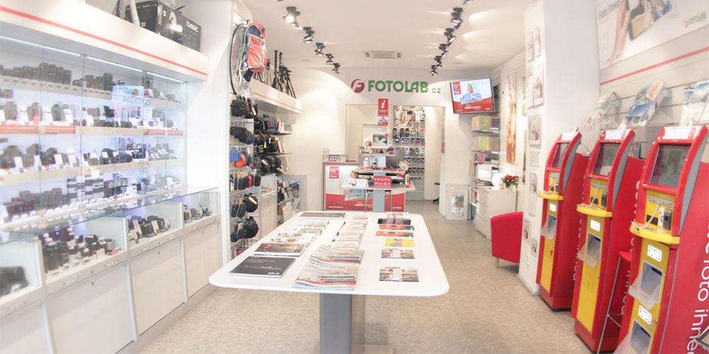 49 prodejen FOTOLAB a 600 výdejních míst v České republice