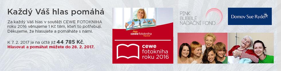 Soutěž CEWE FOTOKNIHA roku 2016