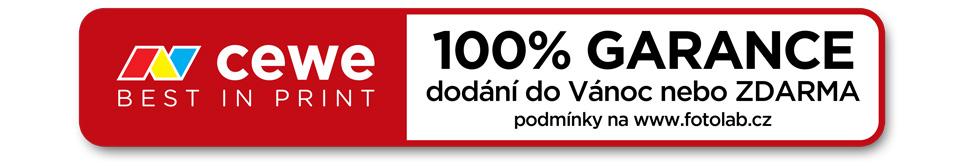 100% garance dodání do Vánoc nebo ZDARMA